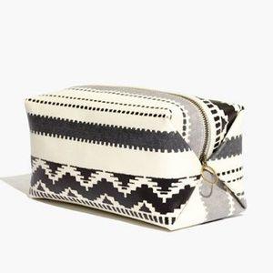 Madewell x FEED Cosmetic Bag, Ivory NWT